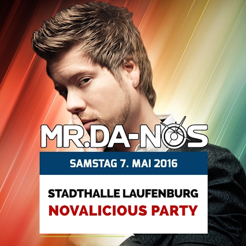 Mr.Da-Nos | Novalicious Party
